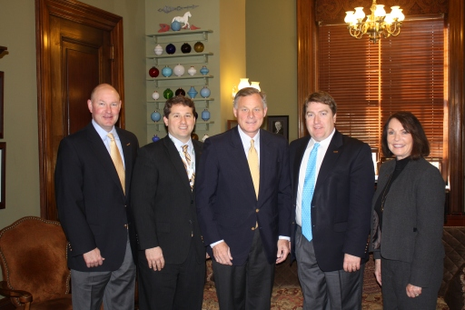 NC NAIOP Delegates with Senator Richard Burr